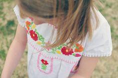 d26465951c Garnet Hill Kids Mexicana Dress as seen on The Shopping Mama. Princess  Closet