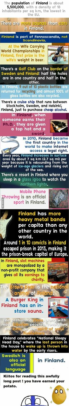 Facts about finland http://ibeebz.com