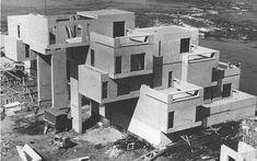 Habitat67 construcción 1964-1967