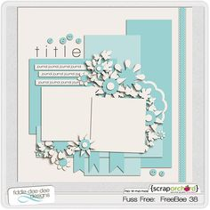 Template freebie from Fiddle-Dee-Dee Designs #scrapbook #digiscrap ...