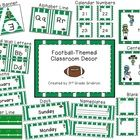 "This 100-page pack includes tons of things to use for football decor in your classroom!  It's a great way to build that ""team"" feeling!  The pack..."
