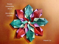 Modular Origami Star by me