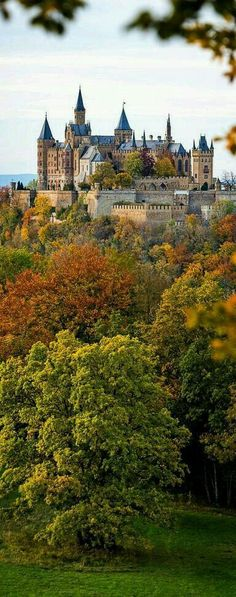 Hohenzollern castle, south of Stuttgart, Germany. Gosh, Germany has so many beautiful castles! Places Around The World, Oh The Places You'll Go, Places To Travel, Places To Visit, Around The Worlds, Beautiful Castles, Beautiful Places, Real Castles, Photo Chateau