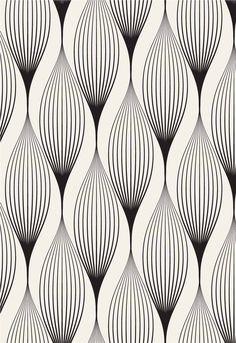 curated pattern and print Wall Stencil Patterns, Zentangle Patterns, Pattern Wallpaper, Motifs Art Nouveau, Motif Art Deco, Surface Pattern Design, Pattern Art, Graphic Patterns, Print Patterns