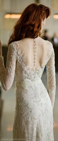 In a little while: Suknie ślubne z długimi rękawami