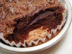 Brownie Fundente con Ganache Ahumada y Salada
