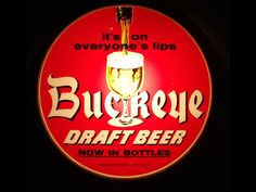 Buckeye beer sign