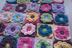 7 Best Haak Bloem Images On Pinterest Crocheted Flowers
