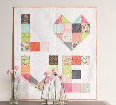 From the book A Piece of Cake (layer cake quilt patterns)