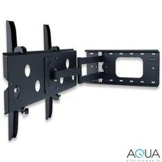 Techly Fali tartó konzol karos TV LCD/LED/PDP 32-60'' 80 kg VESA állítható fekete /301405/