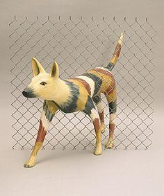 Lin Onus - Dingo Proof Fence