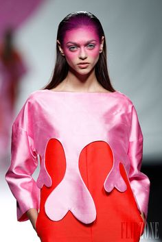 Agatha Ruiz de la Prada - Ready-to-Wear - Spring-summer 2014 - http://www.flip-zone.net/fashion/ready-to-wear/independant-designers/agatha-ruiz-de-la-prada-4122