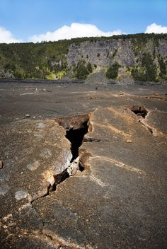 crater hole #travel #Hawaii