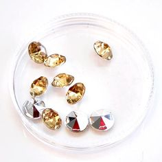 10mm Diamond Rhinestone for R60/pack. This product comes in various colour options, come have a look at our online store | Paradise Creative Crafts cc