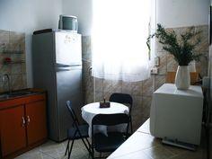 Amplia cocina para uso de nuestros clientes.