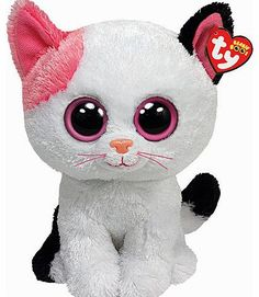 Beanie Boo Buddies Ty Beanie Boo Buddy - Muffin the Cat Soft Toy Beanie Boo Buddies are the cuddliest animals in the world! Muffin the Cat really stands out with her pink ears. Colourful and hand washable, Beanie Boo soft toys are great for kids of all ages. http://www.comparestoreprices.co.uk/soft-toys/beanie-boo-buddies-ty-beanie-boo-buddy--muffin-the-cat-soft-toy.asp