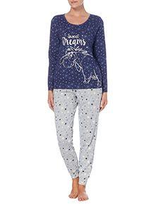 Blue Eeyore Pyjama Set