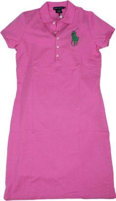 Ralph Lauren 'Blue Label' Women's Big Pony Polo Dress - Listing price: $165.00 Now: $130.00 + Free Shipping