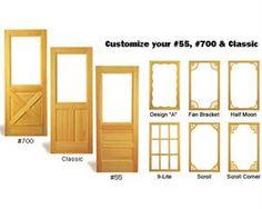 easy change storm/screen doors -- wish we had gotten this instead ...