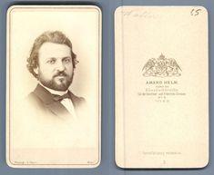 A. Helm, Prague Le musicien Walter    #CDV #portraits #Musiciens_Peintres_