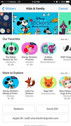 Endless monsters sticker pack App Store visibility