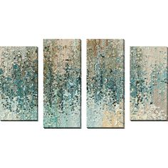 Found it at Wayfair - 'Revealed' by Mark Lawrence 4 Piece Painting Print on Wrapped Canvas Set