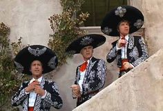 Three Amigos - Where ever their is suffering, they will be there.