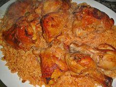 Dijaj bil-Timman il-Ahmar   Maryam's Culinary Wonders: 425. Iraqi Chicken with Red Rice (Timman Ahmar)
