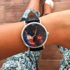 WOODSTOCK ZAMBON WATCH! Take Your Time! Shop: www.woodstockzamb... Instagram:https://www.instagram.com/woodstockzambonvalentina/ #woodstockzambon #style #streetstyle #orologi #watch #summer2016 #galassia #stelle #galaxy