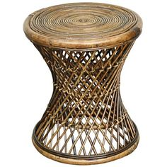 Made from light cocoa rattan, this versatile indoor-outdoor stool is the perfect size as a stylish round accent table, too. Keala natural construction round indoor-outdoor stool or accent table. Style # at Lamps Plus. Living Room Furniture, Home Furniture, Rattan Furniture, Coastal Furniture, Modern Furniture, Outdoor Furniture, Boho Dorm Room, Rattan Stool, Rattan Side Table