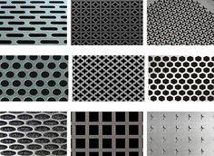 Decorative Aluminum Sheet Mesh Screen