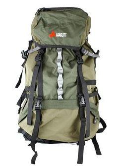 Save 72% on Askalitt Internal Frame Camping Backpack 65 Liter, Green - 276021