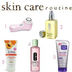 beauty product skin care routine for oily skin