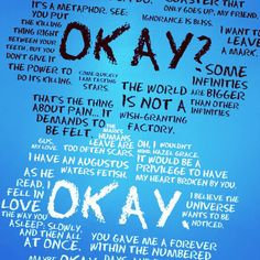 #tfios THE FAULT IN OUR STARS