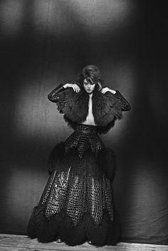 AZZEDINE ALAÏA - Lindsey Wixson, Paryż, 2013 - Peter Lindbergh