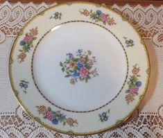 Antique Noritake Replacement China. Elysian Pattern. 10in. Dinner Plate. #Noritake
