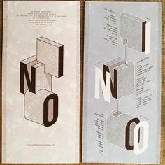 Les flyers du INO recto