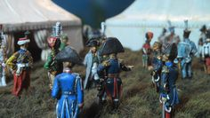 1/72 diorama. Napoleon's headquarters by Judgefredd/Peinture de Guerre