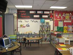This was my sport themed reading bulletin boards and classroom library!