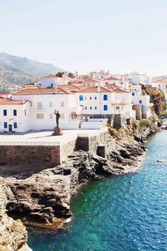 Visiting Greece in Condé Nast Traveller reveals the 23 best Greek Islands to visit, including Santorini, Crete, Mykonos, Corfu and Rhodes Greek Islands To Visit, Best Greek Islands, Places To Travel, Travel Destinations, Places To Visit, Andros Greece, Famous Places In France, Backpacking South America, Viajes
