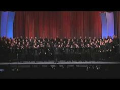 """76 Trombones"" performed by the best barbershop chorus I've ever seen.  I defy anyone to not smile after watching this."