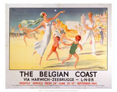Belgian coast via harwich  Beach tennis AUG16