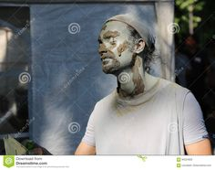 Photo about Living statue to dry the makeup in the sun at international festival of living statues in Bucharest, Romania. Image of model, look, acting - 94324928 Living Statue, Bucharest Romania, International Festival, Editorial, Entertainment, Stock Photos, Makeup, Outdoor, Fictional Characters