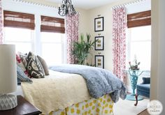 My Bedroom: Before   Inspired by Charm Love the idea for the curtains