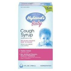 Hylands Homeopathic Remedies Baby Cough Syrup (1x4oz )