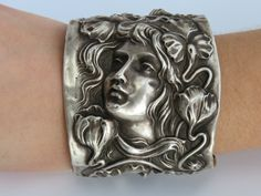 Redlich and Co. Art Nouveau Sterling Silver Goddess by CelebLuxe