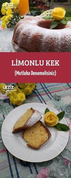 Limonlu Kek (Mutlaka Denemelisiniz) French Toast, Beef, Breakfast, Healthy, Pizza, Food, Cakes, Recipes, Meat
