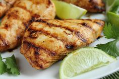 is the marinade I use for the chicken in my chicken lime taquitos but it is so wonderful plain I thought Id post it separately. You can use any chicken pieces you prefer. This is just wonderful! Best Grilled Chicken Recipe, Greek Grilled Chicken, Grilled Buffalo Chicken, Lime Chicken Recipes, Honey Garlic Chicken, Chicken Flavors, Mexican Food Recipes, Turkey Recipes, Mexican Chicken