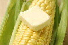 Butter's saltiness balances corn on the cob's sweetness.