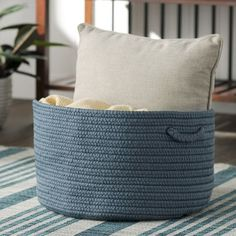 Alcott Hill Fraley Braided Storage Basket